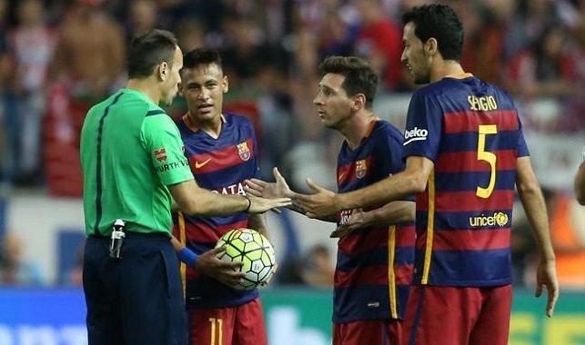 لاهوز يعترف بخطئه الفادح في حق برشلونة