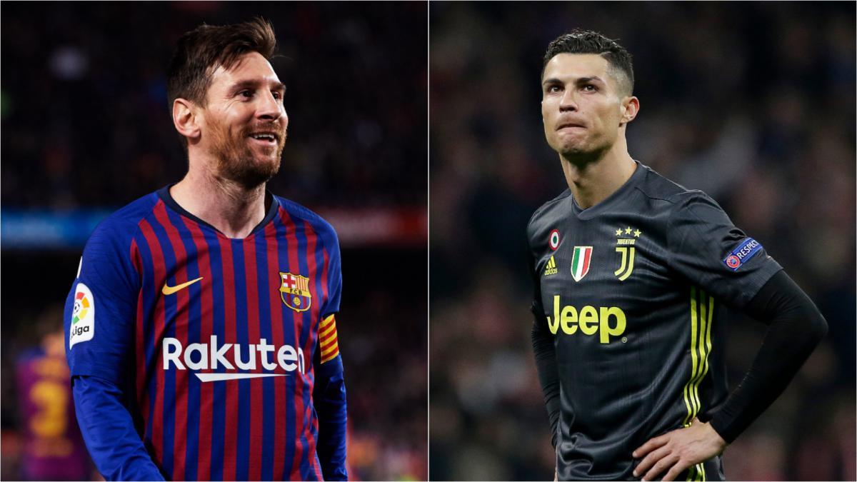 رونالدو وميسي يُطاردان رقماً سلبياً في دوري أبطال أوروبا