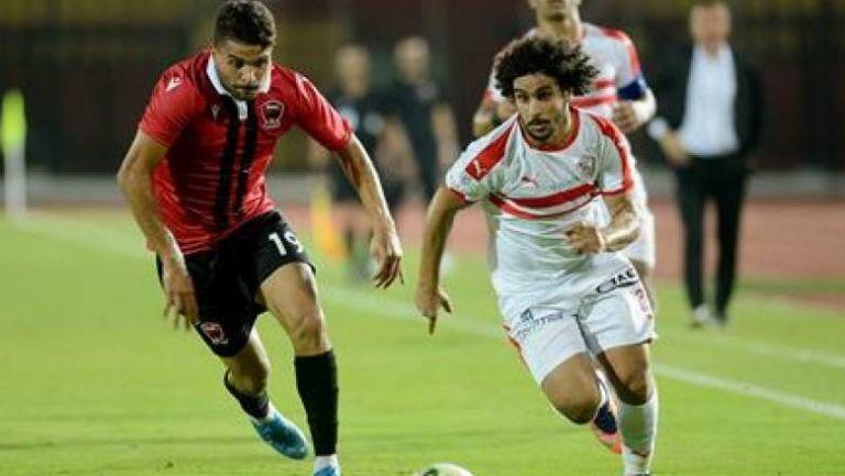 الزمالك يعبر نادي مصر بهدفين ليواجه طلائع الجيش بنصف نهائي الكأس