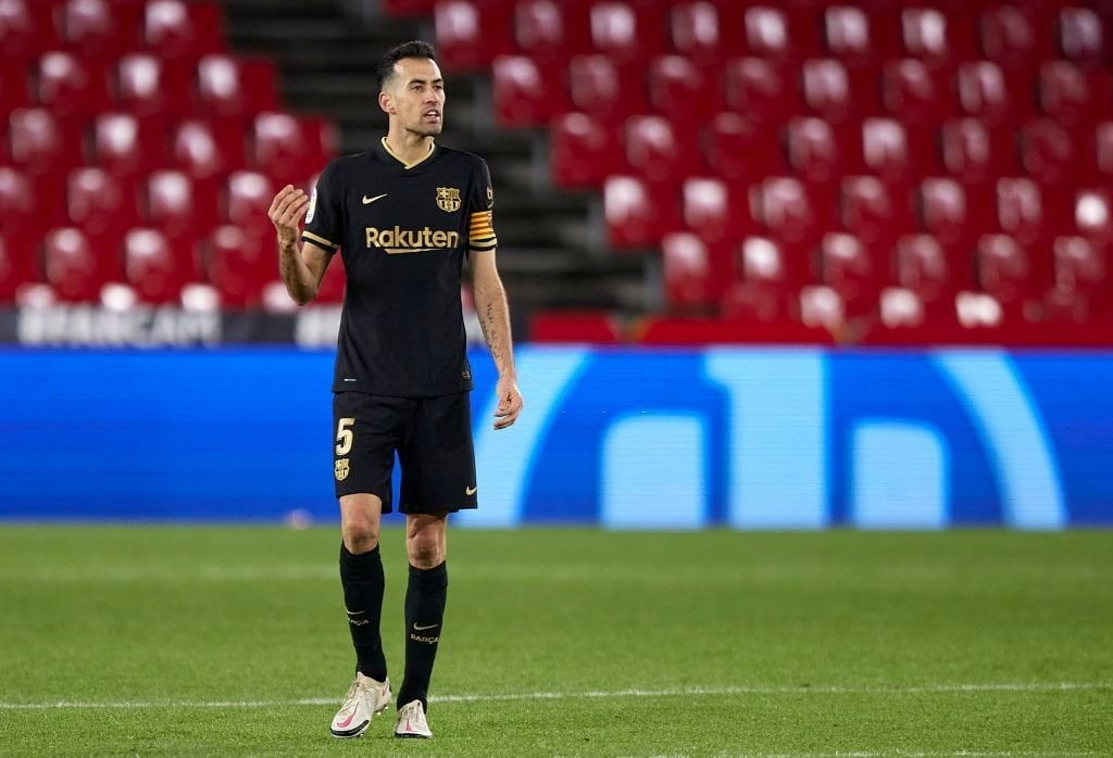 بوسيكتس يسجل رقماً قياسياً مع برشلونة