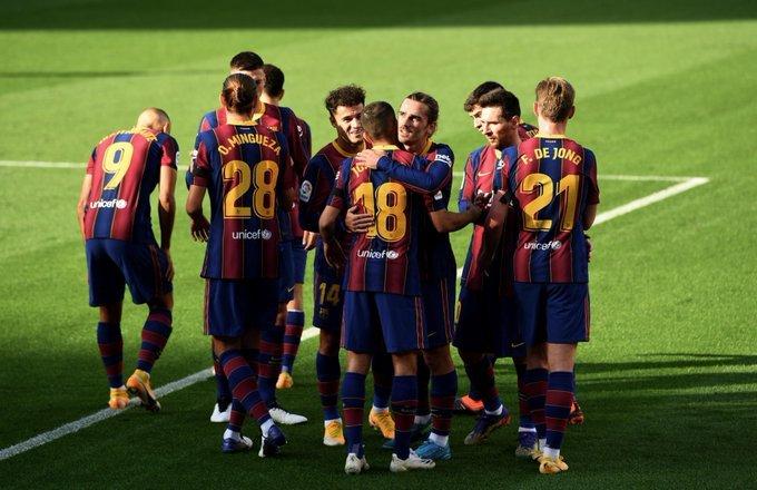 خبر سعيد في برشلونة قبل مواجهة سوسيداد
