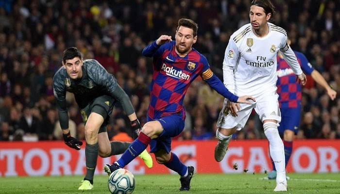 مواعيد مباريات برشلونة وريال مدريد في كأس إسبانيا