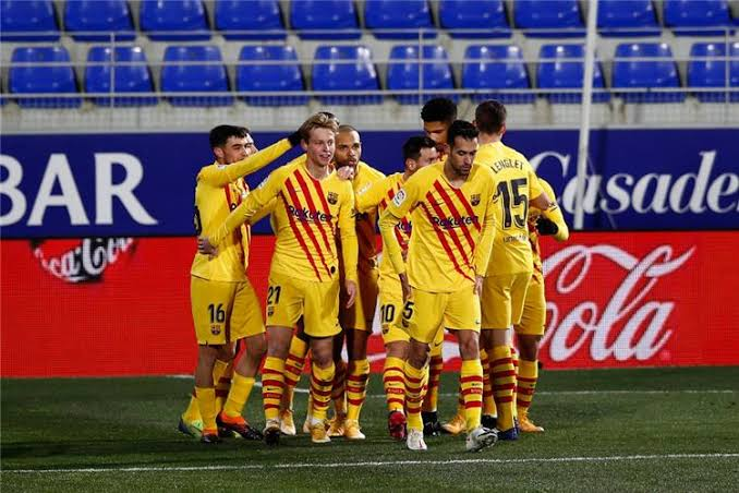 إنتر ميلان يخطف هدف برشلونة