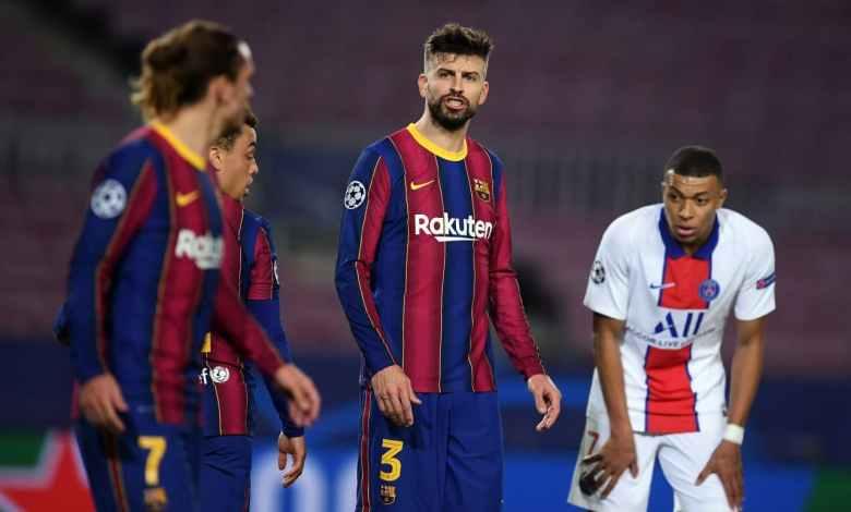 كومان في ورطة.. برشلونة يفقد صخرة الدفاع أمام ريال مدريد