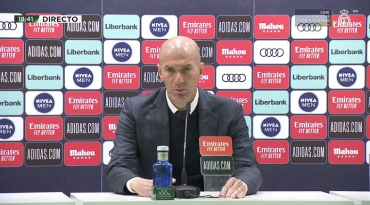 زيدان يوجه رساله خاصة للاعبي ريال مدريد عقب الفوز على إيبار