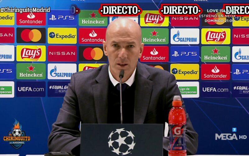 زيدان يعلق على مواجهة الكلاسيكو.. ويحسم موقفه من البقاء في ريال مدريد