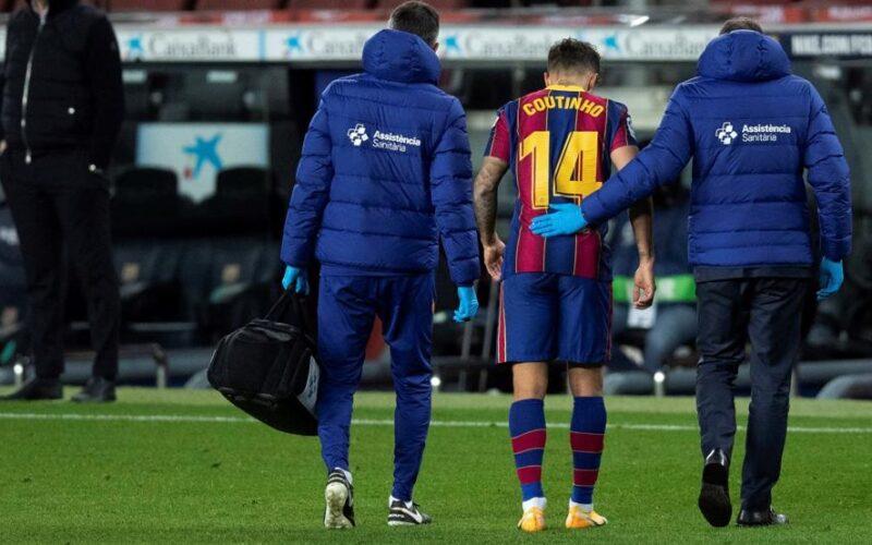 صدق او تصدق .. إصابة كوتينيو تنقذ خزائن برشلونة من الإفلاس