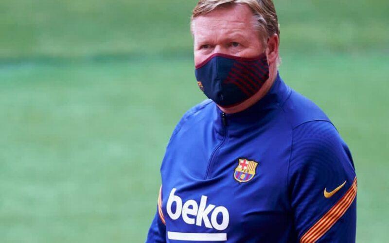 قبل انطلاقة المباراة.. كومان يستبعد 4 لاعبين من قائمة برشلونة أمام بيلباو