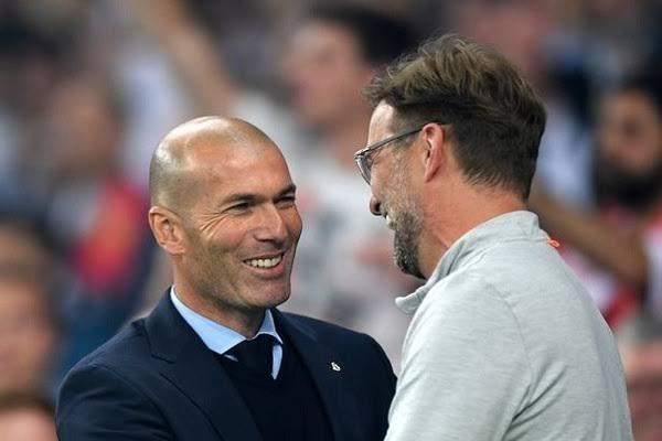 قبل مواجهة ريال مدريد وليفربول … زيدان يوجه رسالة مُثيرة لكلوب