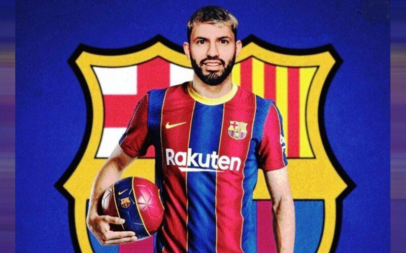 سبب اختيار أجويرو التوقيع برشلونة بالموسم الجديد