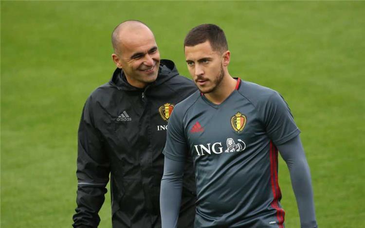 مدرب بلجيكا يفجر مفاجأة غير متوقعة بشأن مشاركة هازارد