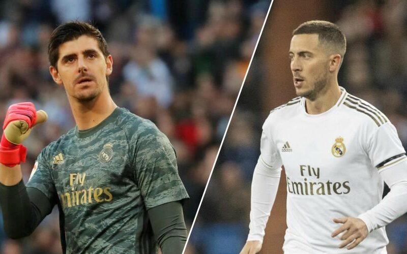 كورتوا يوضح مصير هازارد مع ريال مدريد.. وخسرنا الدوري لهذا السبب