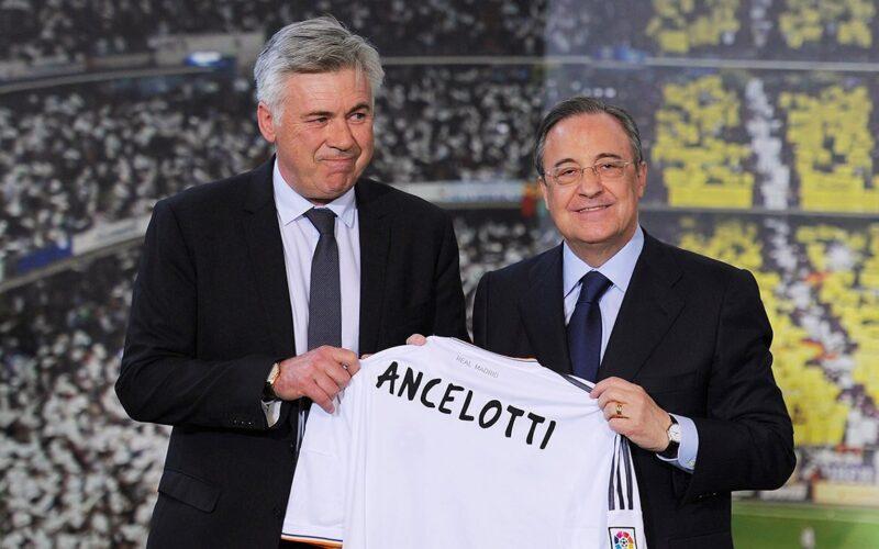 خماسي ريال مدريد يضمن البقاء بعد عودة أنشيلوتي