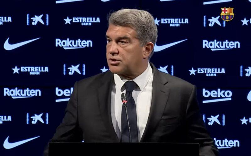 """عاجل   برشلونة يضم صفقة جديدة """" تصريح رسمي من لابورتا """""""