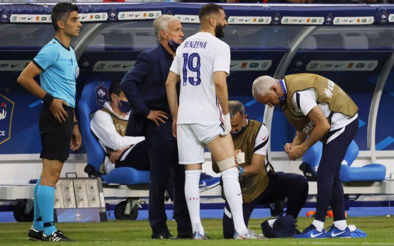 موقف كريم بنزيمة من المشاركة في اليورو بعد الإصابة