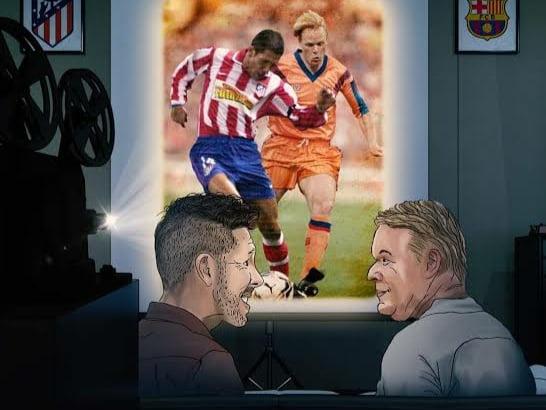بأمر سيميوني .. أتلتيكو مدريد ينقض على هدف برشلونة