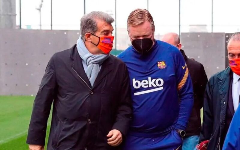 تجنباً لسيناريو فيغو .. كومان يأمر لابورتا بتأمين الجوهرة من ريال مدريد